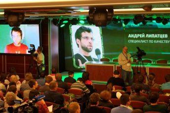 Выступление сотрудника Google на конференции Cybermarketing 2014 в Москве