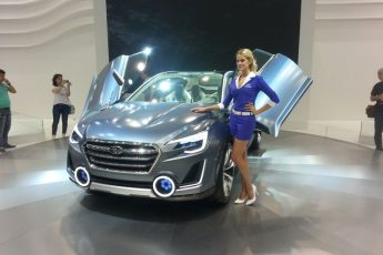 Subaru на Автосалоне ММАС 2014
