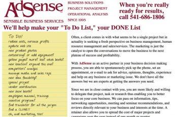 Настоящий сайт AdSense