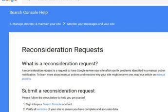 Как разбанить сайт в Google